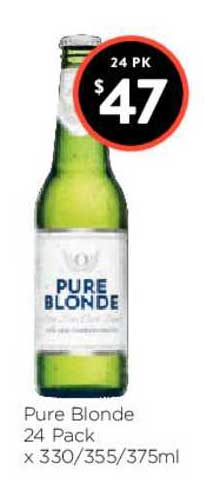 FoodWorks Pure Blonde