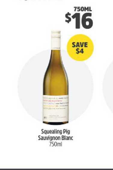 BWS Squealing Pig Sauvignon Blanc