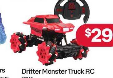 Australia Post Drifter Monster Truck Rc