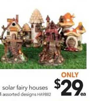 Cheap As Chips Solar Fairy Houses