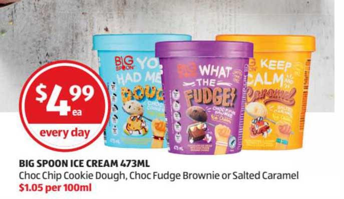 ALDI Big Spoon Ice Cream 473ml