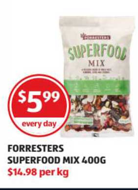 ALDI Forresters Superfood Mix
