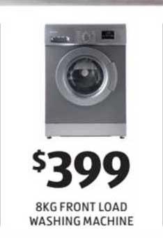 ALDI 8kg Front Load Washing Machine