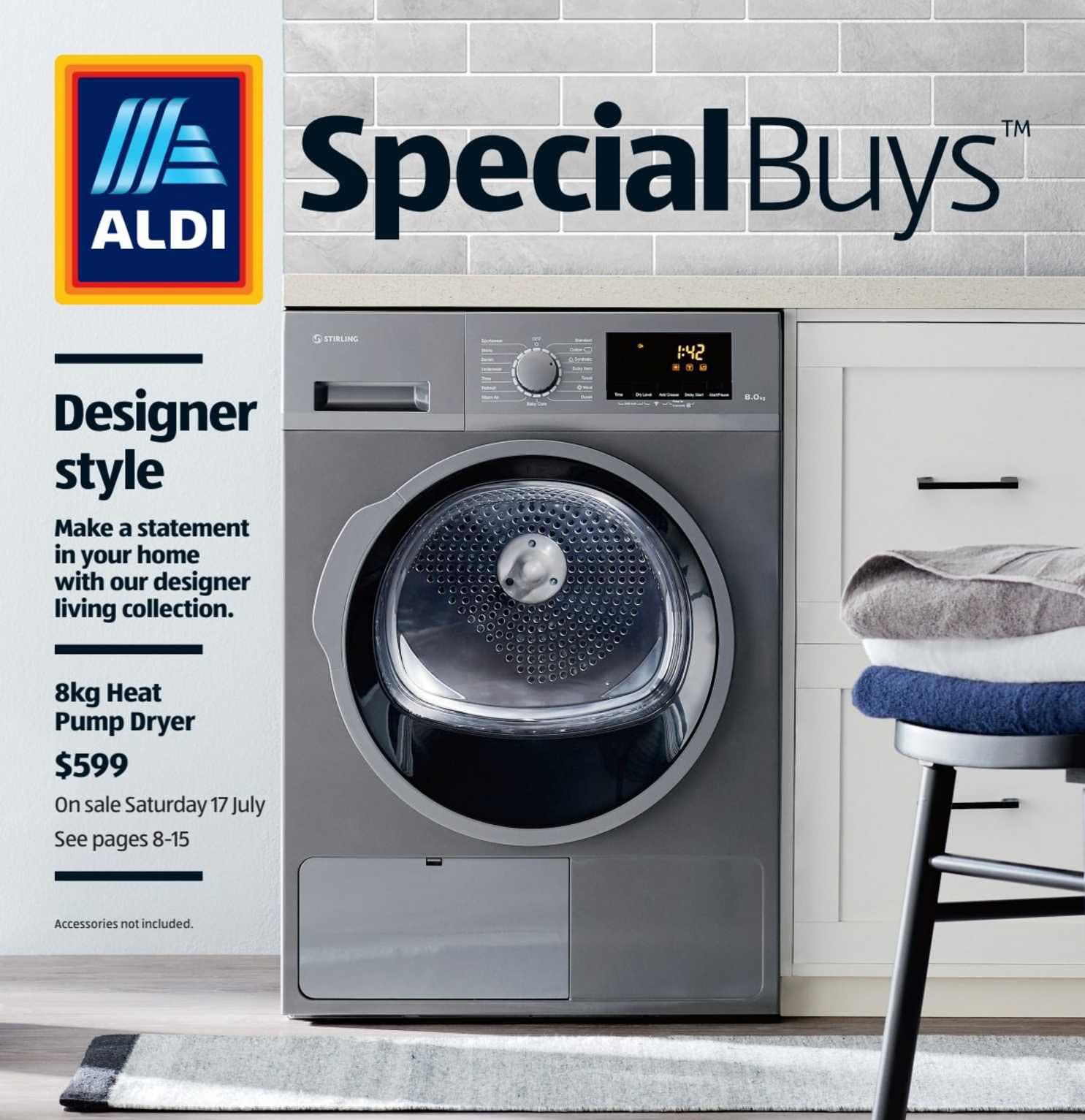 ALDI 8kg Heat Pump Dryer