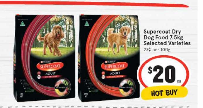 IGA Supercoat Dry Dog Food 7.5kg