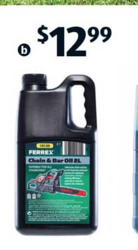 ALDI Ferrex Chain & Bar Oil