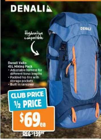 Anaconda Denali Vallo 45L Hiking Pack