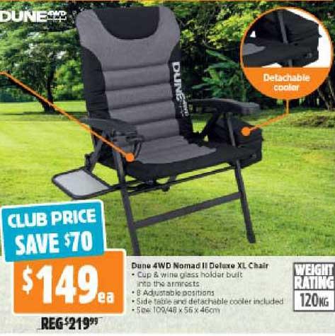 Anaconda Dune 4WD Nomad II Deluxe XL Chair
