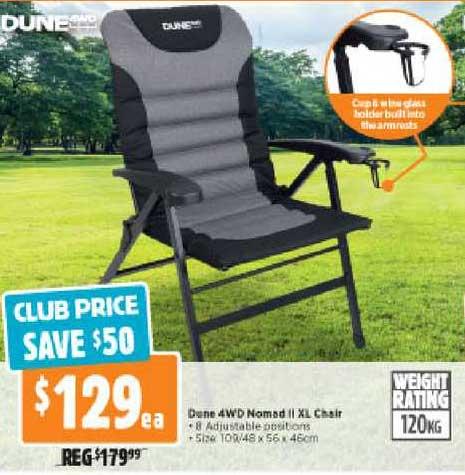 Anaconda Dune 4WD Nomad II XL Chair