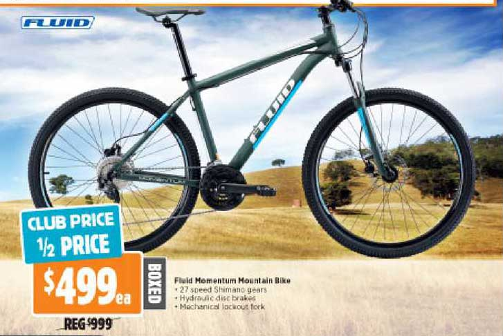 Anaconda Fluid Momentum Mountain Bike
