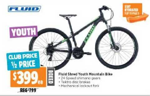 Anaconda Fluid Shred Youth Mountain Bike
