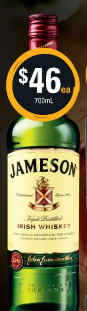 Cellarbrations Jameson