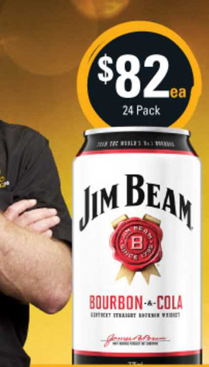 Cellarbrations Jim Beam Bourbon Cola