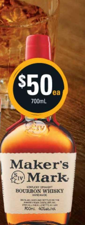 Cellarbrations Maker's Mark Bourbon Whisky