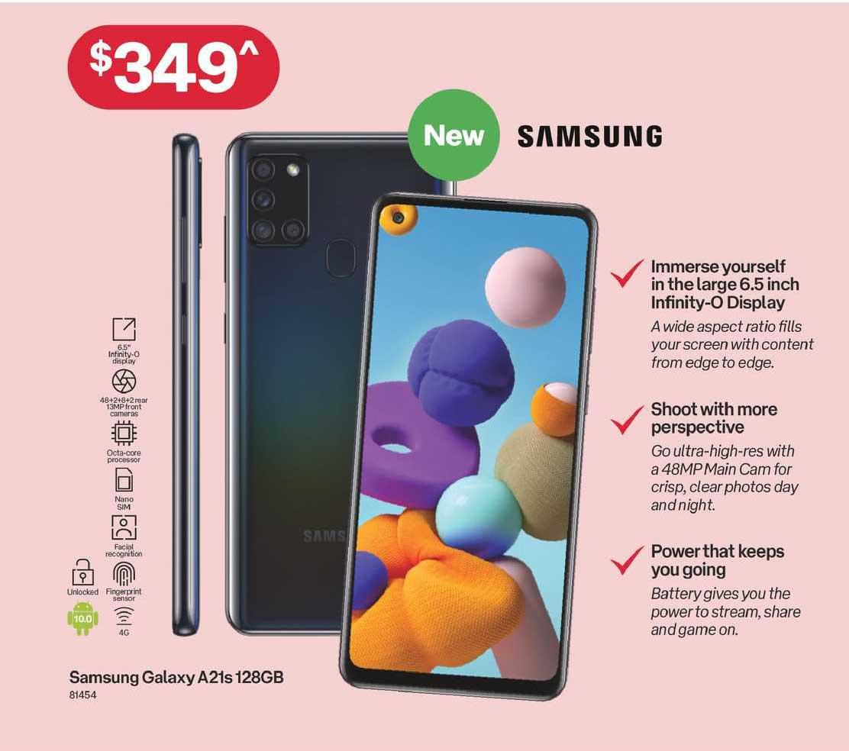 Australia Post Samsung Galaxy A21s 128gb