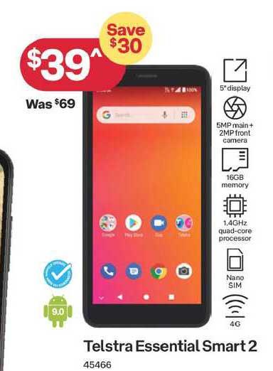 Australia Post Telstra Essential Smart2