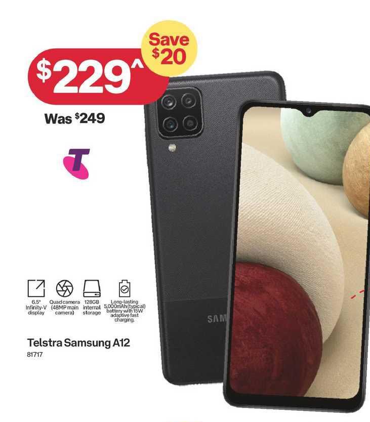 Australia Post Telstra Samsung A12