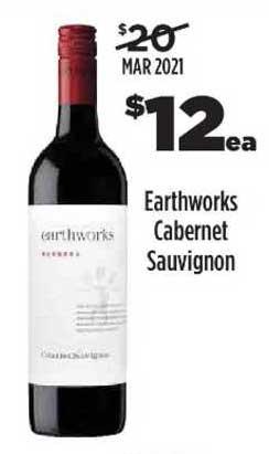 Liquorland Earthworks Cabernet Sauvignon