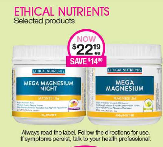 Priceline Ethical Nutrients