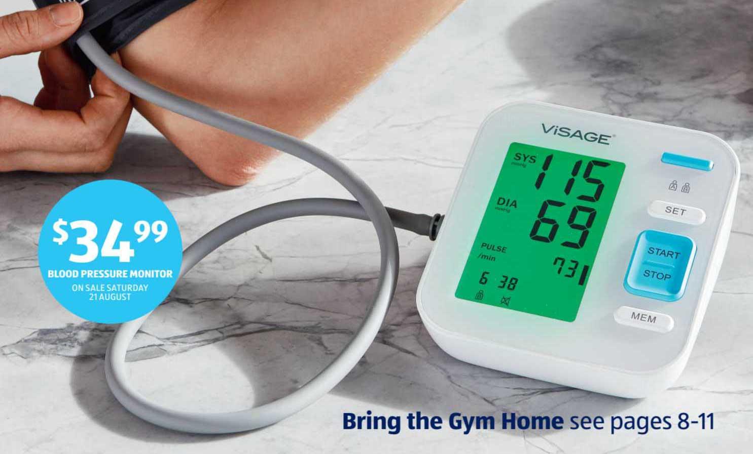 ALDI Blodd Pressure Monitor