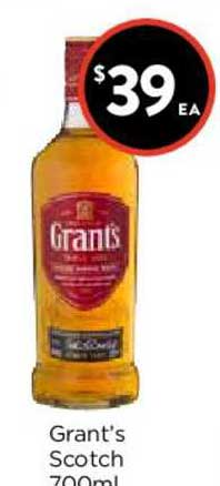 FoodWorks Grant's Scotch 700ml