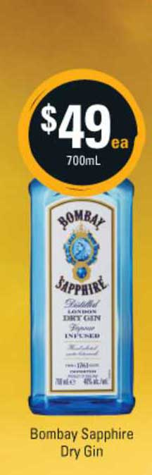 Cellarbrations Bombay Sapphire Dry Gin