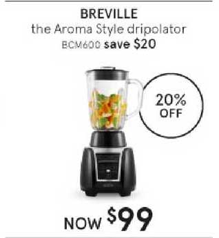 Myer Breville The Aroma Style Dripolator