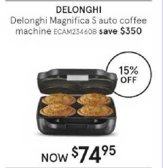 Myer Delonghi Magnifica S Auto Coffee Machine