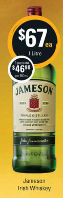 Cellarbrations Jameson Irish Whiskey