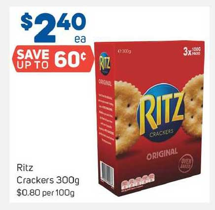 Foodland Ritz Crackers 300g