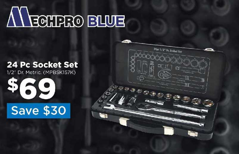 Repco 24 Pc Socket Set