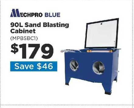 Repco 90L Sand Blasting Cabinet