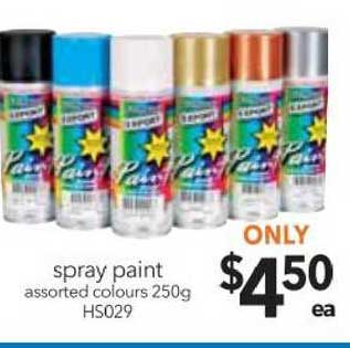 Cheap As Chips Spray Paint