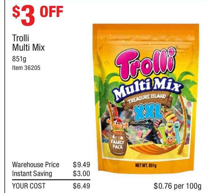 Costco Trolli Multi Mix