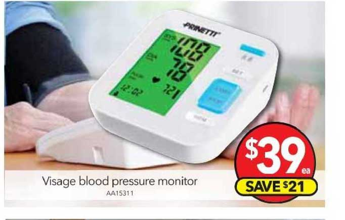 Cheap As Chips Visage Blood Pressure Monitor