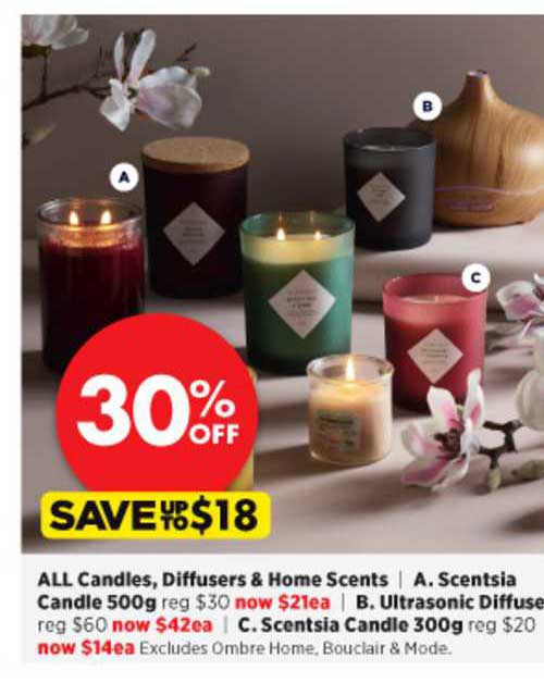Spotlight All Candles , Diffusers & Home Scents