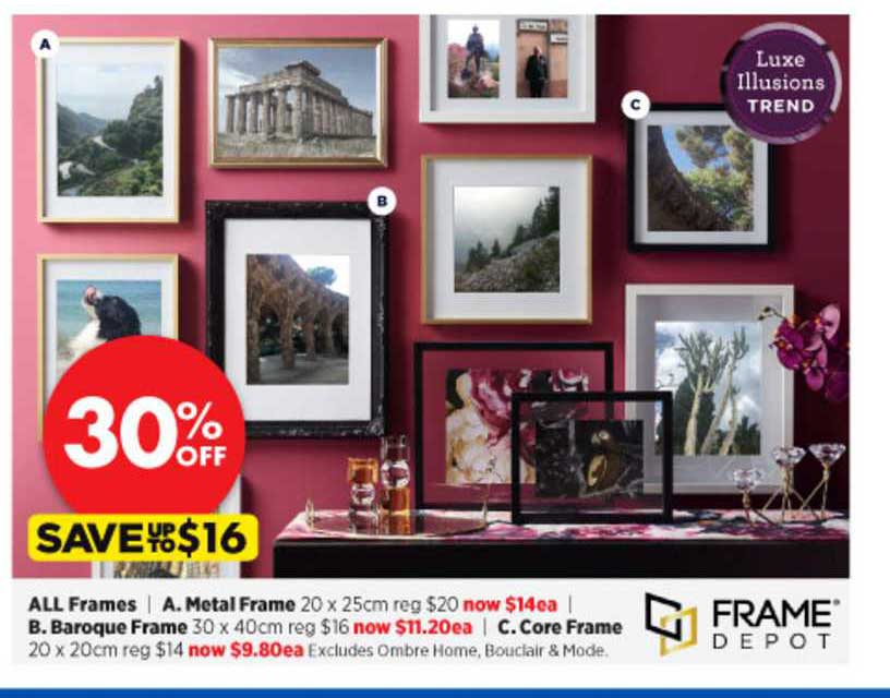 Spotlight All Frames , Metal Frame , Baroque Frame , Core Frame