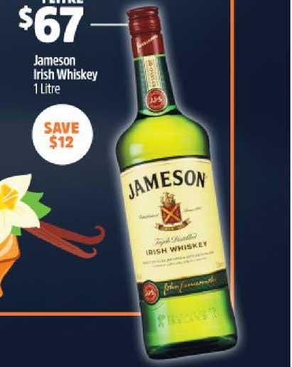 BWS Jameson Irish Whiskey
