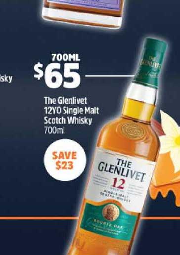 BWS The Glenlivet 12YO Single Malt Scoth Whisky