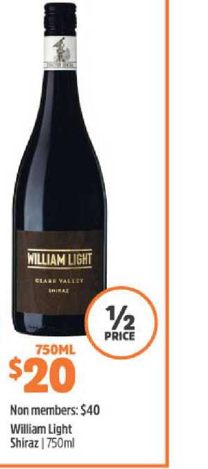 BWS William Light Shiraz