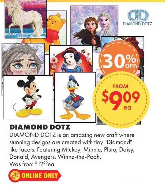 Lincraft Diamond Dotz