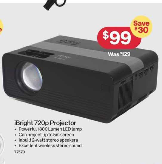 Australia Post IBright 720p Projector