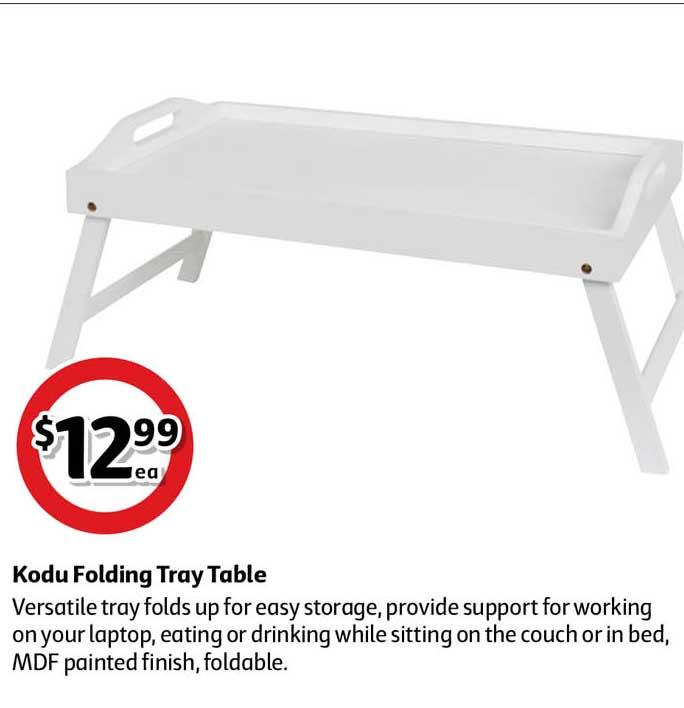Coles Kodu Folding Tray Table