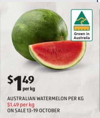 ALDI Australian Watermelon