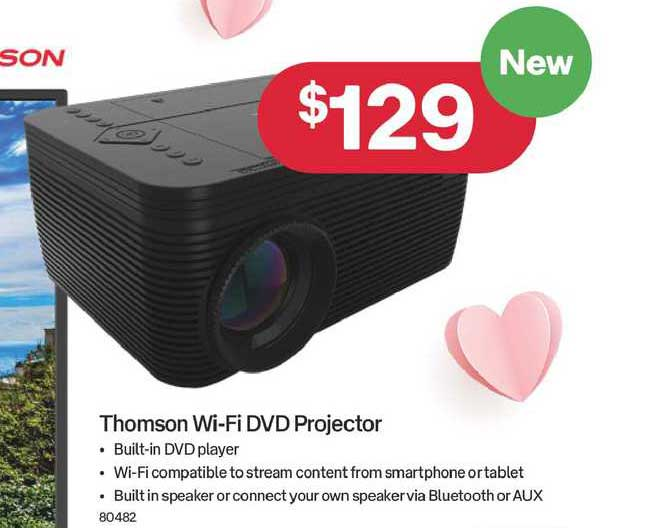 Australia Post Thomson Wi-Fi DVD Projector
