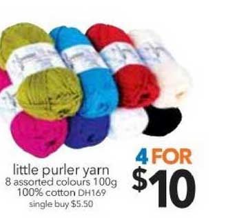 Cheap As Chips Little Purler Yarn