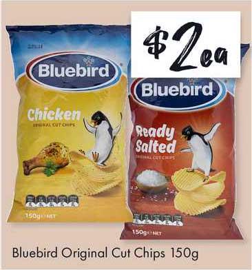 The Reject Shop Bluebird Original Cut Chips 150g