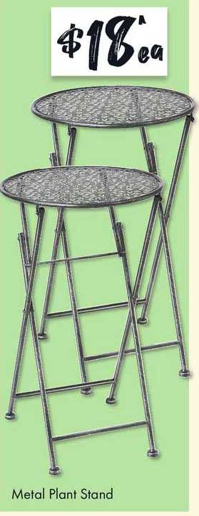 The Reject Shop Metal Plant Stand