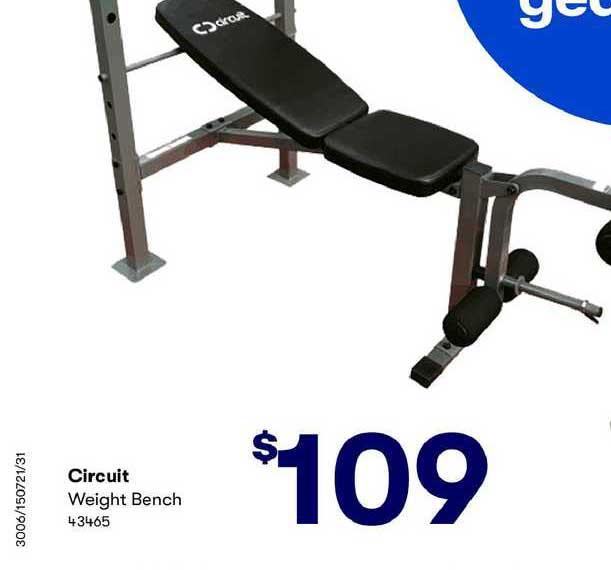BIG W Circuit Weight Bench