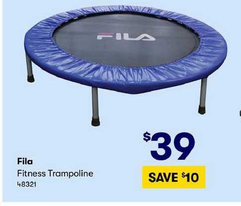 BIG W Fila Fitness Trampoline